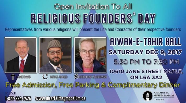 Religious founder day