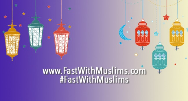 Image Fast with a Muslim Friend